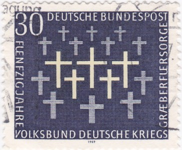 1969 - GER - SG1488 30pf War Graves VFU
