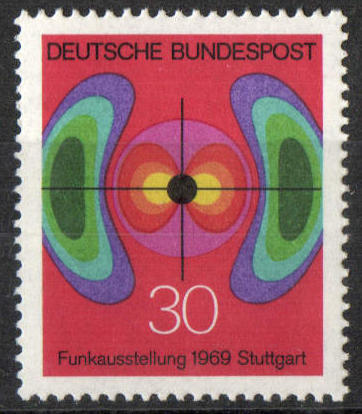 1969 - GER - SG1498 30pf German Radio Exhibition VFU