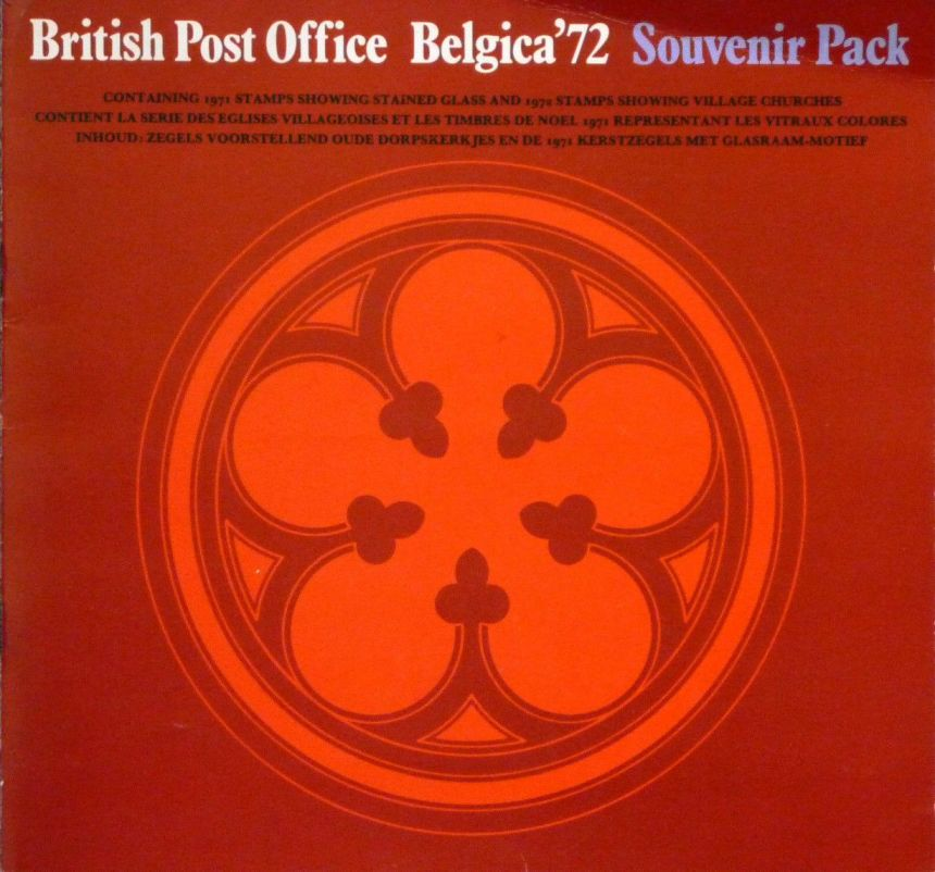 1972 GB - SPC01 - BPO Belgica'72 Souvenir Book with Stamps