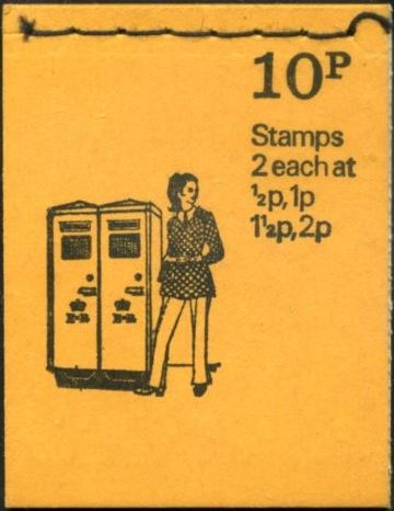 1973 GB - DN62 - Post Boxes No 9, OCT 73 FCP/DEX Good Perfs
