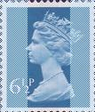 1974 GB - SGX871 (U148) 6½p Greenish Blue 2B (H) MNH