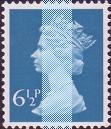 1975 GB - SGX872 (U149-1) 6½p Greenish Blue CB (H) PVAD MNH