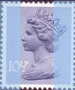 1978 GB - SGX891 (U197) 10½p Steel Blue (H) 2B MNH