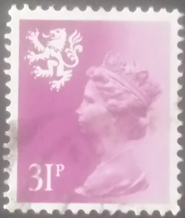 1984 GB - SGS51 (XSL65) 31p Brt Purple (Wadd) P.14 Type I VFU