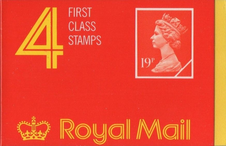 1988 GB - GD3 £0.76 - 4 x 19p Harrison Cover Cyl B16