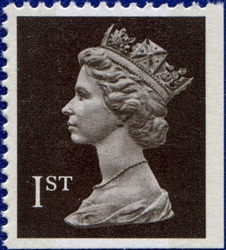 1989 GB - SG1447 (UHB1-p3) 1st (H) Black COMB PPIP from HB2 MNH