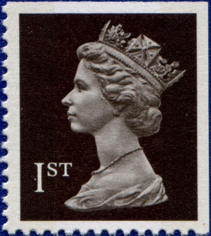 1989 GB - SG1447 (UHB1-p2) 1st (H) Black COMB IIPP from HB2 MNH