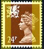 1993 GB - SGW60 (XWL46) 24p Chestnut 2B (Q) from Potter DX15 MNH