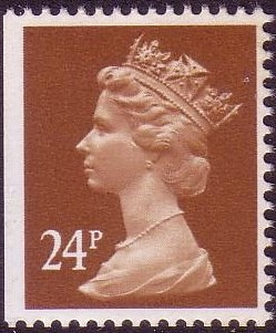 1993 GB - SGX1053 (UG62L) 24p Chestnut (W) frm £1 bklt PPPI MNH - Click Image to Close