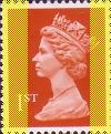 1994 GB - SG1671 (UQB8) 1st Flame (Q) 2B YF from HB7 Bklt MNH