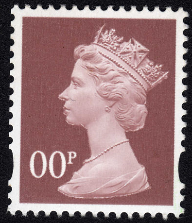 1997-2004 - GB - 00p Ash-Brown (5p) MNH