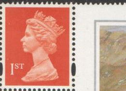 1998 GB - SG1671ir 1st Flame (W) frm 50th Birthday Bklt HB16 MNH