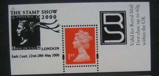 "1995 GB - Boots Label - London ""Collect Stamps"" (1d Black) FU"