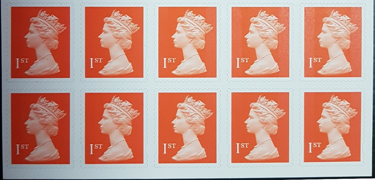 2002 GB - BS6 Business Sht (1st Enschedé) - Dated 16/04 (10) MNH