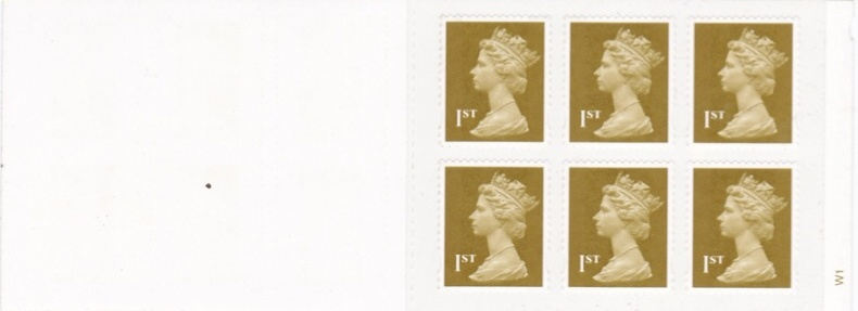 2003 GB - MB06 £1.62 - 6 x 1st Gold Real Network (Cyl W1)