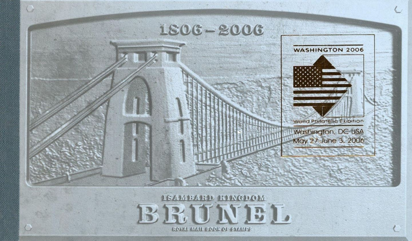 2006 GB - DX36a - Isambard Kingdom Brunel WASHINGTON Ovpt