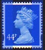 2006 GB - SGY1720 (U410) 44p Ultramarine (D) from Sheet MNH