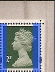 2007 GB - SGY1668 (U85x) 2p DLR (from Machin PB) DX39 MNH