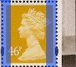 2007 GB - SGY1722v (U414) 46p (D) Old Gold from Machin DX39 MNH