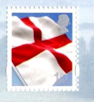 2007 GB - SGEN51 - 1st St George Flag 2B (from MSEN50) MNH