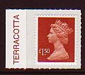 2009 GB - SGU2913 (UJD8) £1.50 (D) Brown-Red Colour Single MNH