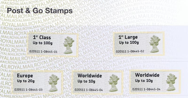 Post And Go Stamp The Stamp Collecting
