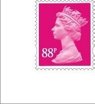 2010 GB - SGY1740 (UG135x) 88p Magenta (C) 2B from MS3073 MNH