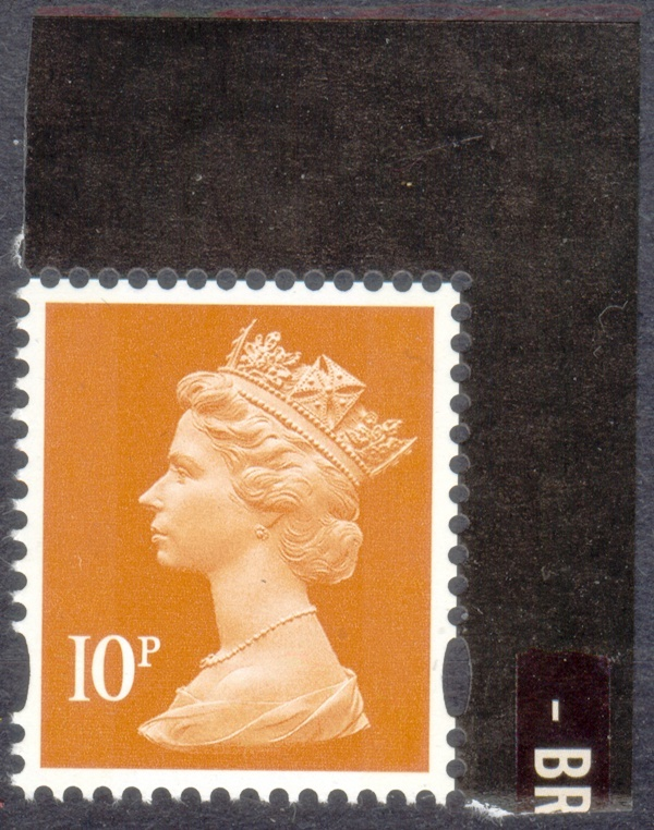 2010 GB - SGY1770 (UG29) 10p (C) from Classic Albums DX48 MNH