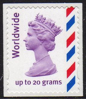 "2010 GB - SG2359a (UJW28) ""WW"" Single (W) from MJ3 Booklet MNH"