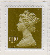 2011 GB - SGU2933 (UJD45) £1.10 Lime Green (D) 2B M11L MNH