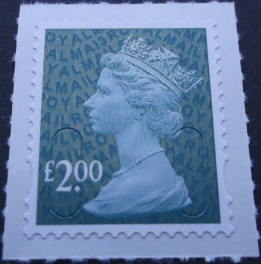 2013 GB - SGU2938 (UJD55) £2 Dp Blue-Green (D) 2B MA13 MNH