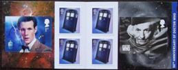 "2013 GB - PM36 - Dr Who (W) Mixed Bklt of 6 ""MCIL"" Cyl W1"
