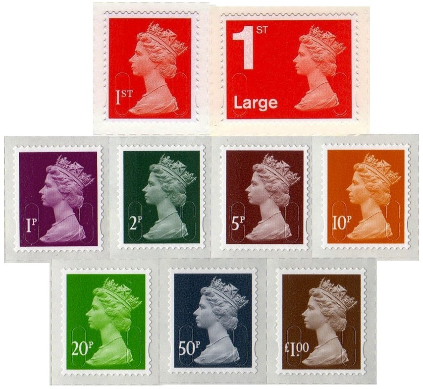 2013.Vvar.01 GB - Complete Set of January Counter Sngles (9) MNH