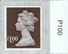 2014 GB - SGU2932-14F £1.00 Wood Brown M14L MTIL Frgery 'P' MNH
