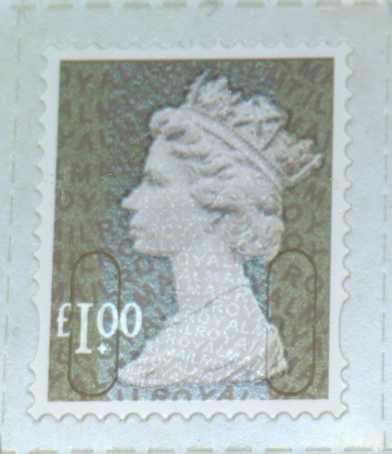 2014 GB - SGU2932-14F £1.00 Wood Brown M14L MTIL Forgery MNH