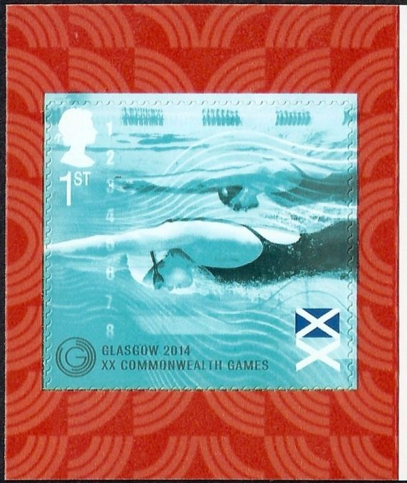 "2014 GB - SG3625 ""Swimmers"" Commem from PM43 MNH"