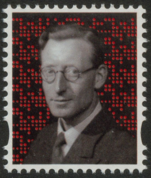 2015 GB - L86 - Tommy Flowers MBE Label from DY12 MNH