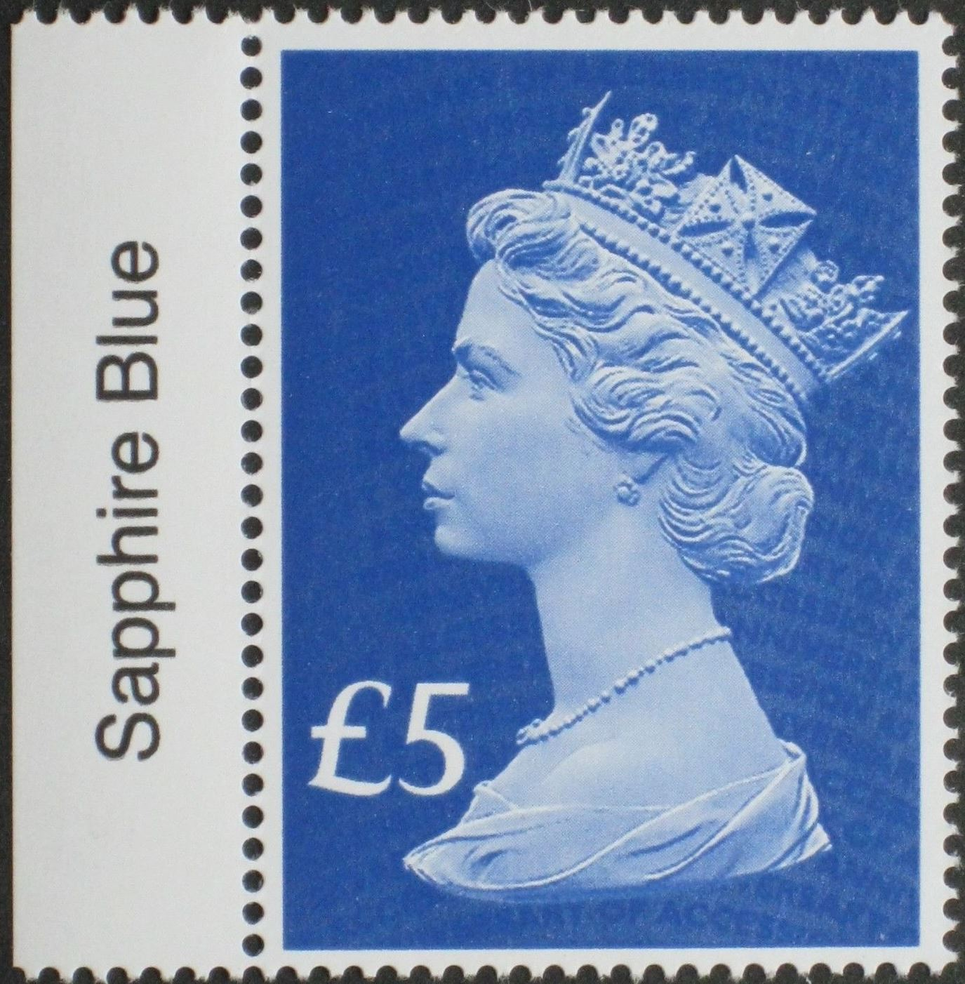 2017 GB - SGUxxxx £5 Blue (W) 2B 65th Anniv of Access Colour MNH
