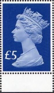 2017 GB - SGUxxxx £5 Blue (W) 2B 65th Anniv of Access Mgnl B MNH