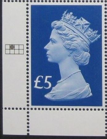 2017 GB - SGUxxxx £5 Blue (W) 2B 65th Anniv of Access c2r1 MNH