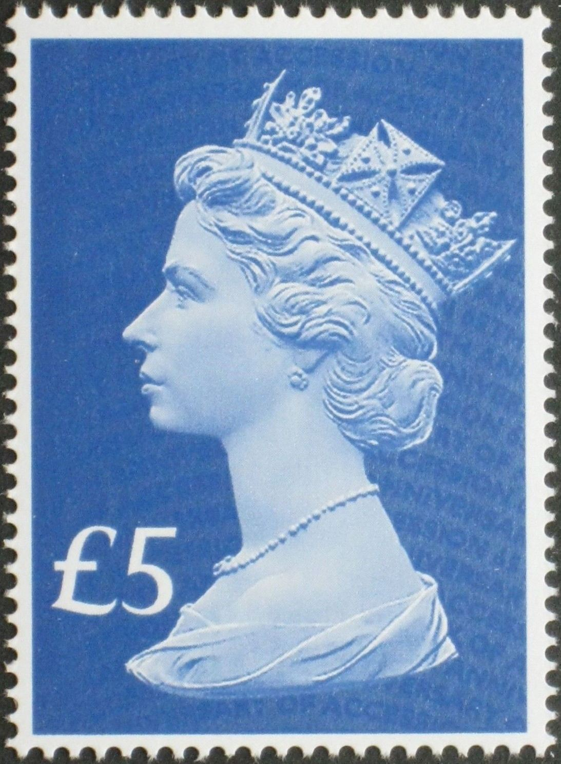 2017 GB - SGUxxxx £5 Blue (W) 2B 65th Anniv of Access Single MNH