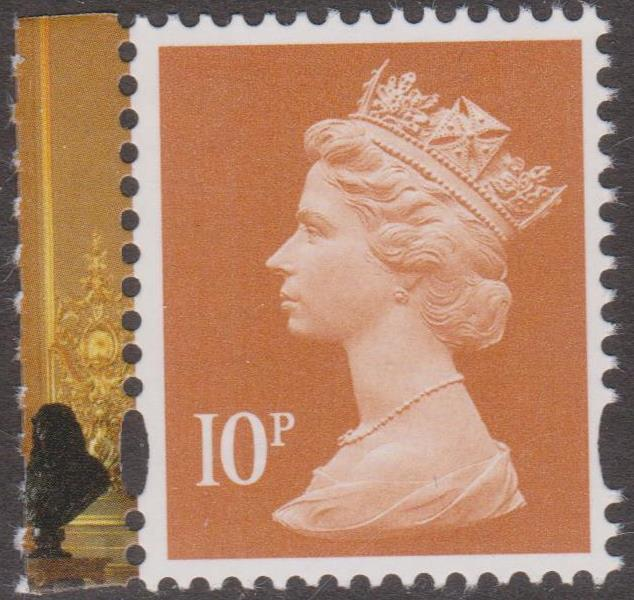 2017 GB - SGU3013-16 (UG219) 10p Orange (C) 2B fm Windsor PB MNH