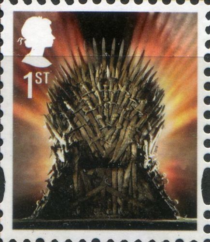 2018 GB - SG4049 - 1st NVI (C) Iron Throne Defin from DY24 MNH