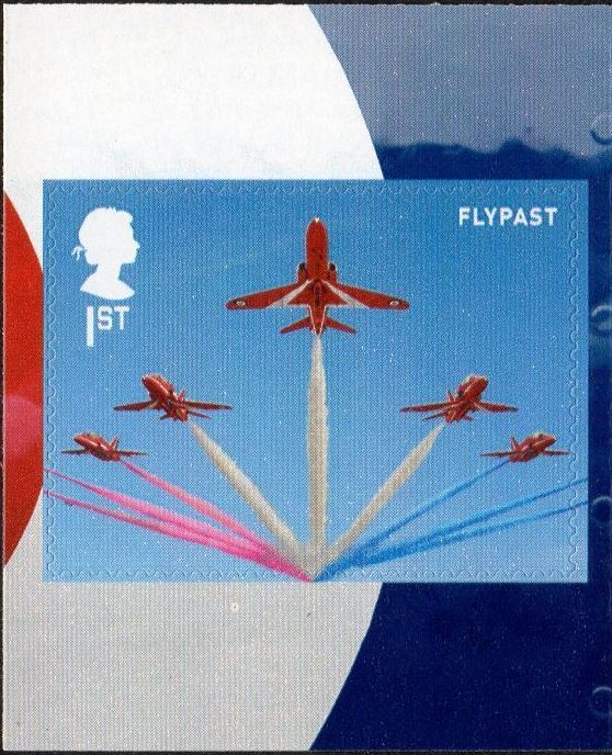 2018 GB - SG4080 - RAF Centenary Red Arrows Flypast frm PM60 MNH
