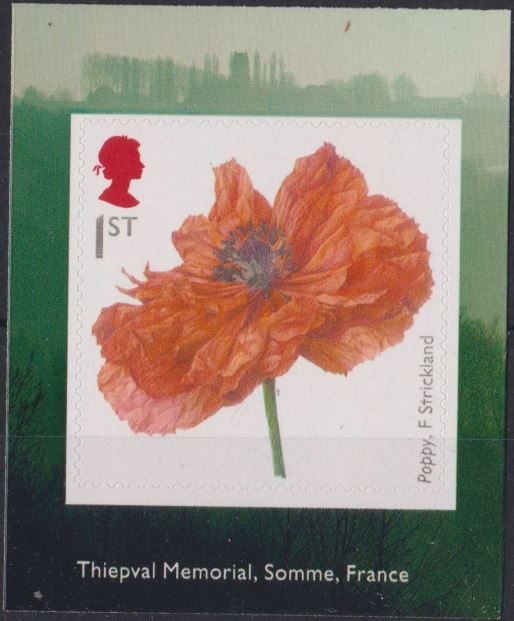 2018 GB - SG4139 - Great War Poppy F. Strickland frm PM63 MNH