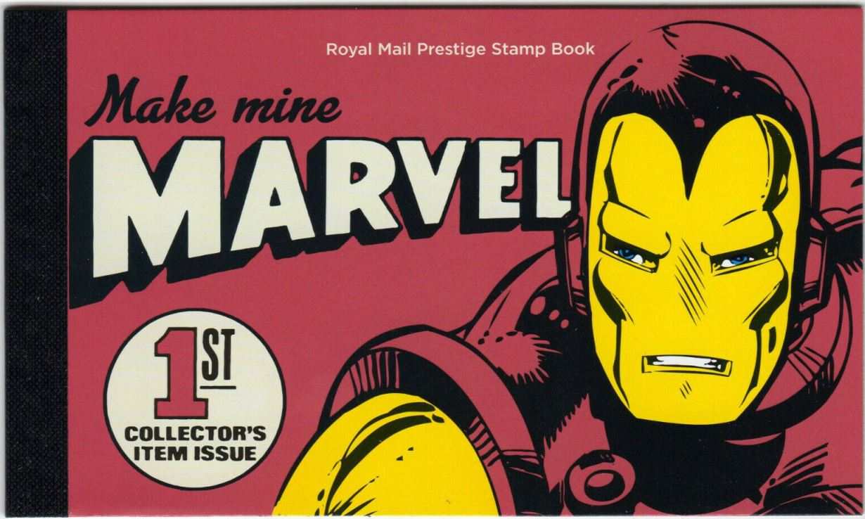 2019 GB - DY29 - Marvel Iconic Super Heroes Prestige Book