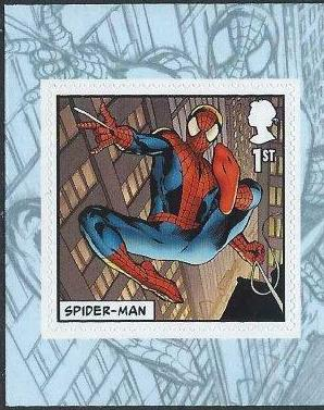 2019 GB - SG41xx - 1st NVI (W) Spider-Man from PM65 Book MNH