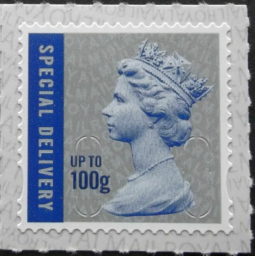 2019 GB - SGU3051-19 SPECIAL DELIVERY (W) upto 100g Single MNH