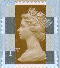 2003 GB - SGUJW6 Single 1st Gold (W) from MF4 Bk of 12 (TRN) MNH