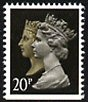 1990 GB - SG1469s 20p (H) Anniv (imperf bottom) MNH